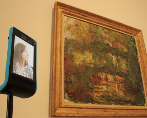 Double 3 at the museum: when art and technology go together