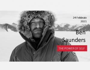 Ben Saunders: 24 febbraio 2021